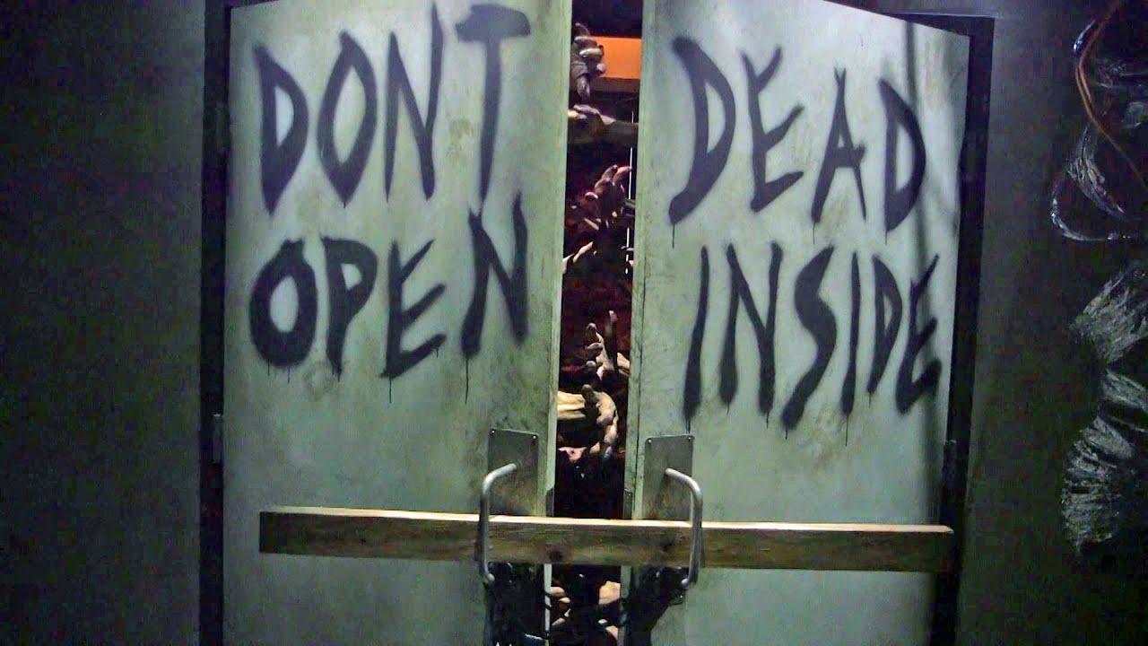 The Walking Dead At Universal Studios Hollywood Walkthrough Excerpts