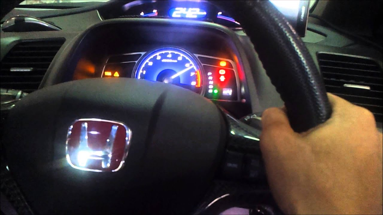 Honda Civic FD2 R Top Speed
