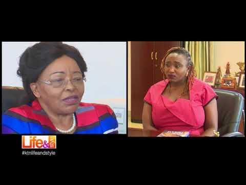LIFE&STYLE with  Dr Betty Muthoni Gikonyo Founder of Karen Hospital