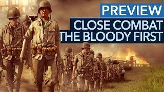 Close Combat: The Bloody First - Preview / Vorschau: Der Klassiker ist zurück (Gameplay)
