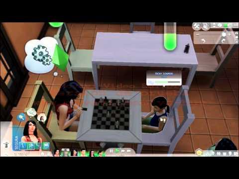 como jugar ajedrez en los sims free play