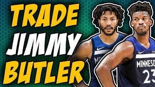 Derrick Rose Gives Insight Into Jimmy Butler Trade Request