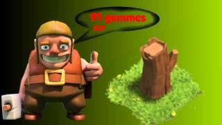 Clash of clans | Le tronc qui coûtait 91 gemmes  | Story