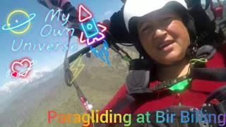 बीड़ बिलिंग में साहसिक पैराग्लाइडिंग -Adventurous Paragliding in Bir Billing Himachal India