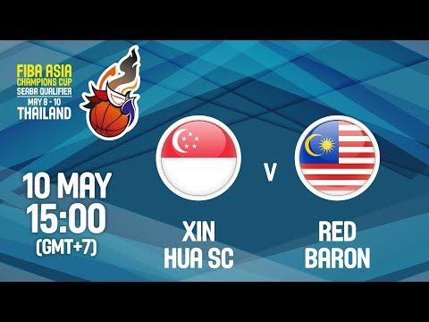 Xin Hua SC (SGN) v Red Baron (MAS) - Full Game - FIBA Asia Champions Cup 2018 SEABA Qualifier
