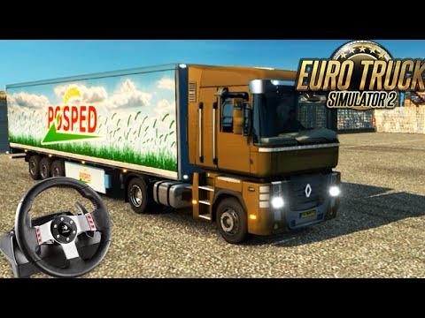 Euro Truck Simulator 2 - MÃO INGLESA e REINO UNIDO! + G27