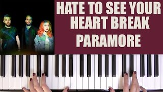 HOW TO PLAY: HATE TO SEE YOUR HEART BREAK - PARAMORE