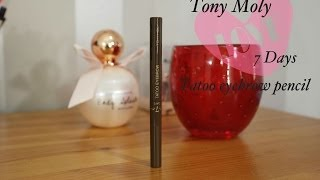Ensivaikutelma: Tony Moly 7days tatoo eyebrow pencil Thumbnail