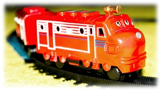Fake Chuggington Railway with Train Wilson Toys VIDEO FOR CHILDREN