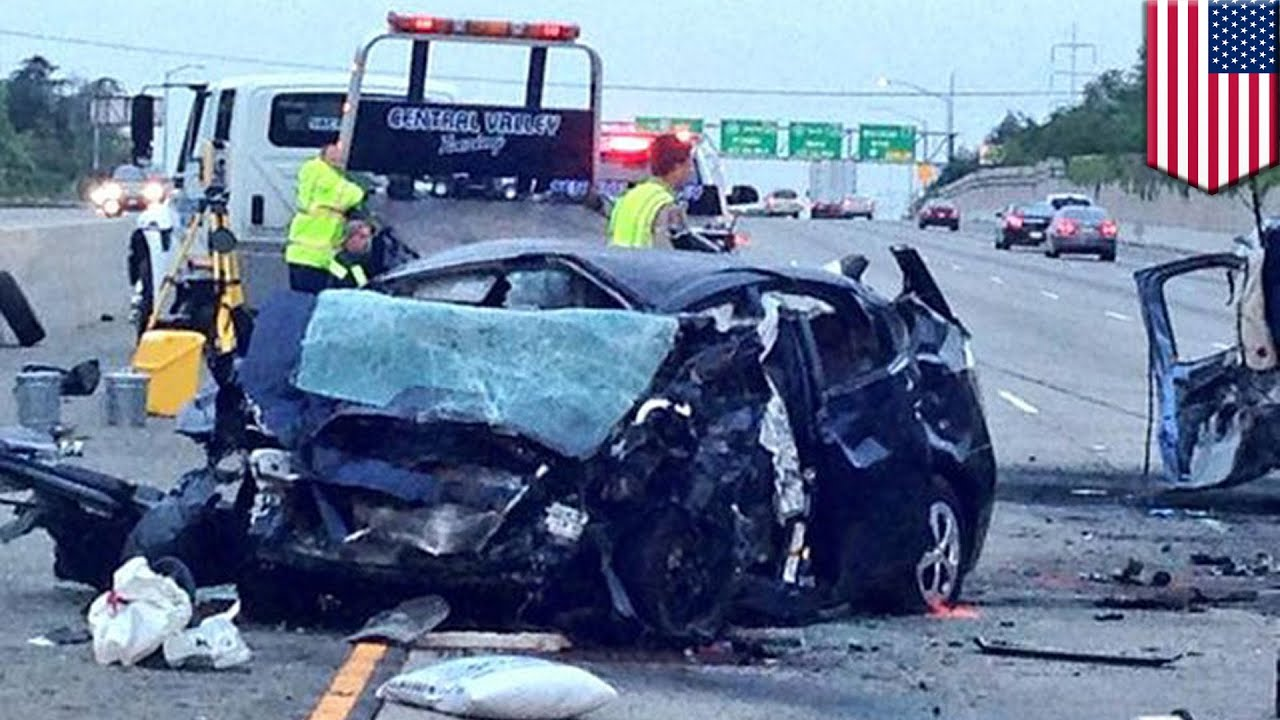 Sacramento fatal car accident: Prius driving the wrong way on Highway 50  hits pickup truck