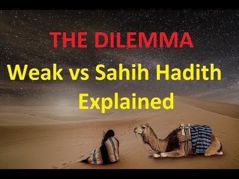 What is a weak Hadith?