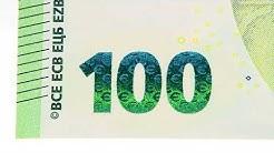 Der neue 100 € schein - Fälschung erkennen - Echtheit prüfen