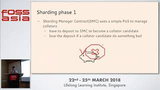 Ethereum and Sharding -  Mai-Hsuan Chia- FOSSASIA 2018