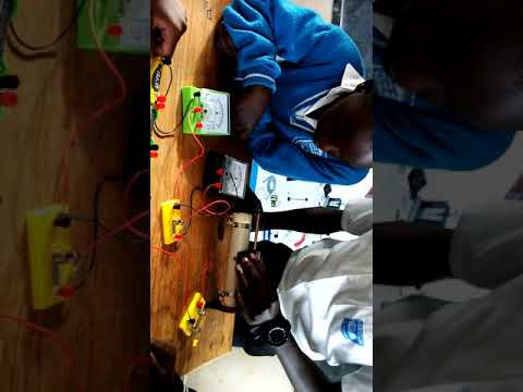Groupe Scolaire APAPEC MURAMBI Science Club Ohm's law demo