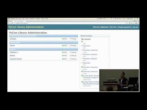 Jacinda Shelly - Delving into the Django Admin - PyCon 2015