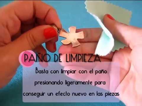 43bec66993f9 PAÑO PARA LIMPIAR PLATA Y BISUTERÍA - YouTube