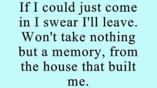 The House That Built Me lyrics