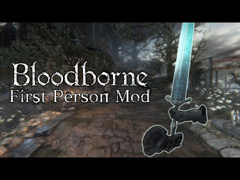 Bloodborne, but in FIRST PERSON!