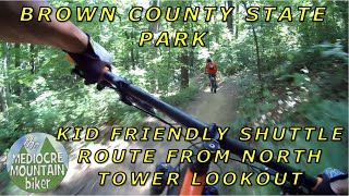 Kid Friendly Shuttle Ride at Brown County State Park