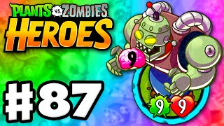 Plants vs. Zombies: Heroes - Gameplay Walkthrough Part 87 - Zombot 1000 Legendary! (iOS, Android)
