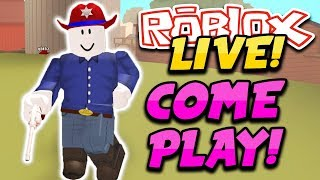 THIS GAME IS MORE FUN THAN JAILBREAK!! (Roblox Wild Revolvers) | Roblox ADOPT ME I'M A CUTE BABY!