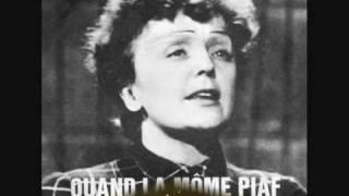"Edith Piaf ""Paris-Méditerranée"" 1938."