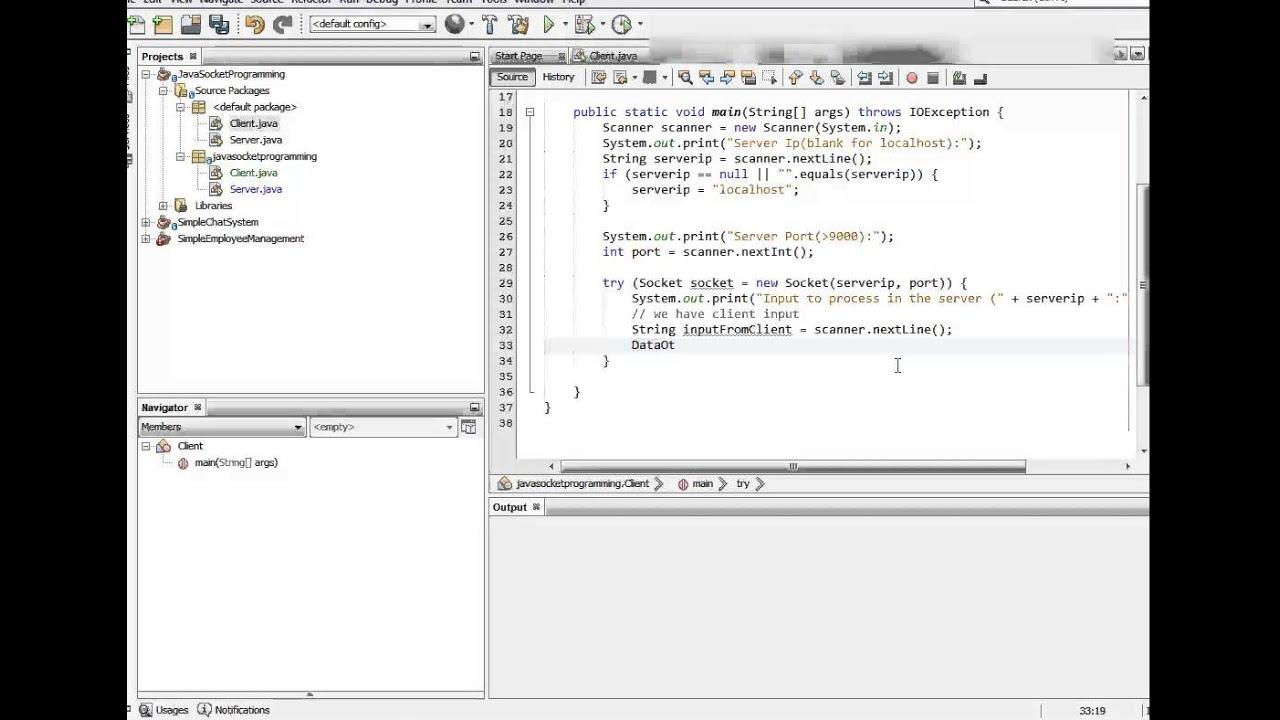 Java Socket Programming Basics