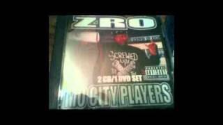 2011 Z-ro Mixtape Slowed & chopped Mo City Streets, Mo City Love