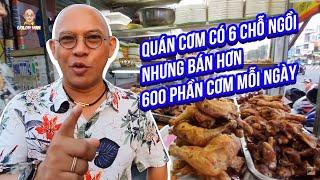 Food For Good #537: Vì sao quán cơm Ông Bà Già có đúng 6 cái ghế mỗi ngày bán 600 dĩa cơm???