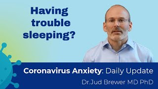 How to sleep when you are anxious (3 key tips) (Coronavirus Anxiety Daily Update #8)
