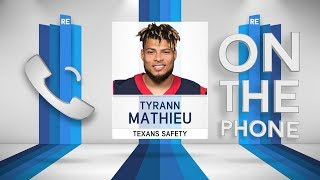 Texans S Tyrann Mathieu Talks Deshaun Watson, OBJ & More w/Rich Eisen | Full Interview | 10/18/18