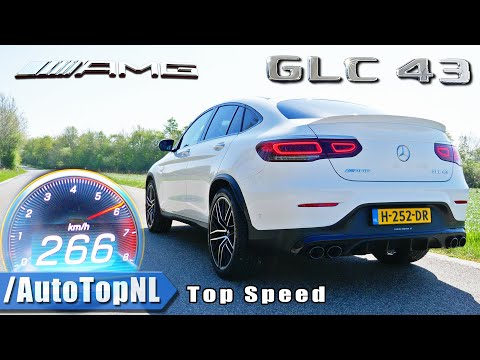 2020 Mercedes AMG GLC 43 4Matic+ 0-250km/h ACCELERATION TOP SPEED & Exhaust SOUND By AutoTopNL