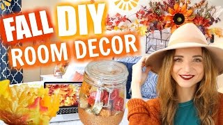 Easy Fall DIY Room Decor for 2016 | Outfit Ideas & Essentials