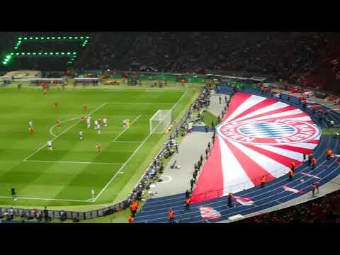 Pokalfinale 2018 Berlin 3:1 und Versuchter Platzsturm Bayern Frankfurt