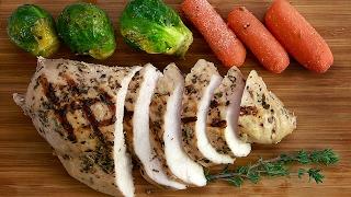 Рецепт | Куриная грудка в сувид (sous vide) с овощами