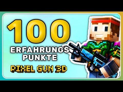 100 Erfahrung nach 1 Kampf! | Pixel Gun 3D [Deutsch]