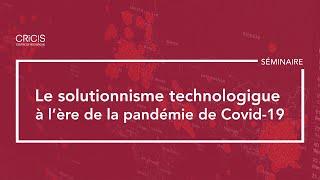 Table ronde: «Le rôle de la technologie dans la lutte contre la pandémie COVID-19»