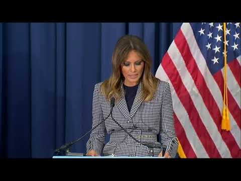 First lady speaks on opioid crisis at Pa. hospital