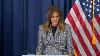 First lady speaks on opioid crisis at Pa. hospital thumbnail