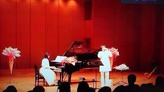 オカリナ ヨシツカ LG、しぶオカ SG 2017/05/03 At Yoshie 's piano recital.