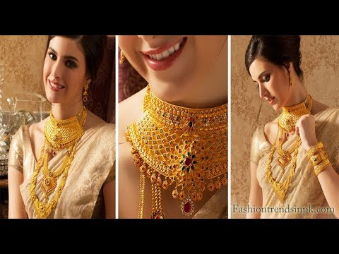 Gold Necklace Latest Collection Kalyan Jewellers Youtube