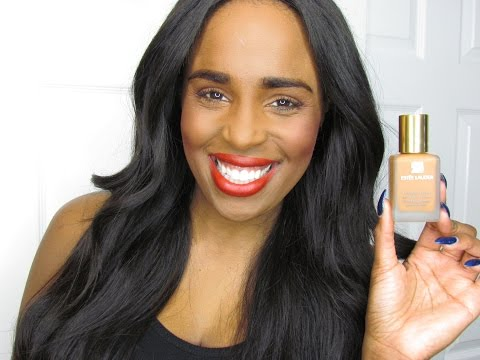 ESTEE LAUDER DOUBLE WEAR STAY-IN-PLACE FOUNDATION | 1ST IMPRESSION & FULL DEMO!