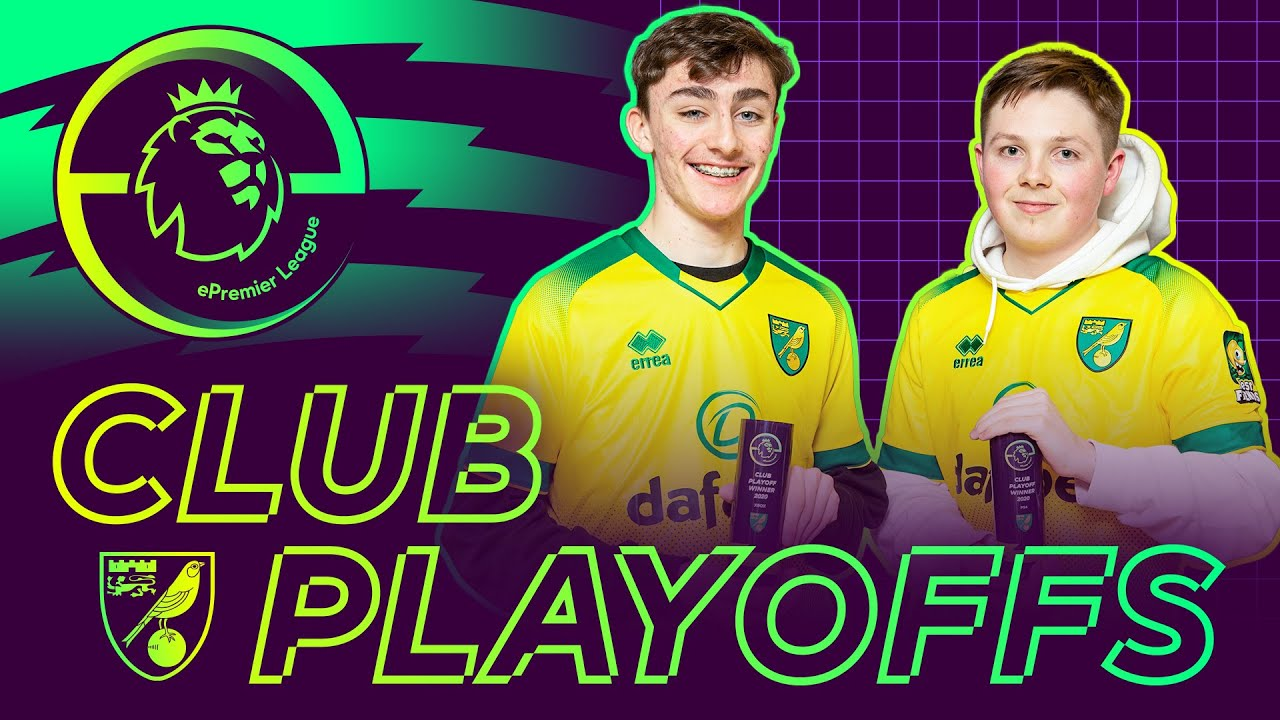 Norwich City's FIFA 20 ePremierLeague Play-offs