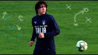 Sandro Tonali - Brescia vs Lecce - 18 year old Playmaker - New Pirlo?