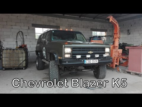 Chevrolet Blazer K5 Cucv Military 4x4 V8 62 Diesel Youtube