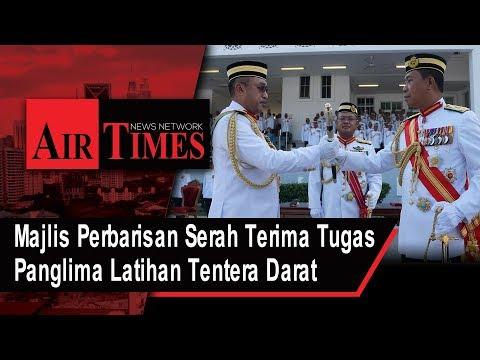 Majlis Perbarisan Serah Terima Tugas Panglima Latihan Tentera Darat PLTD