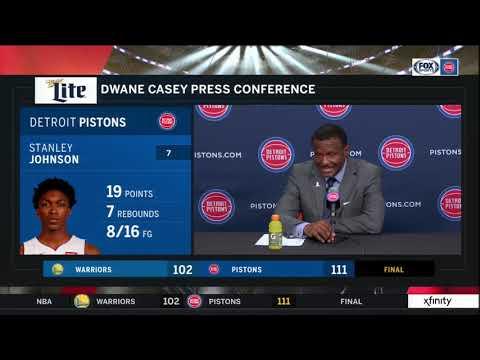 Pistons LIVE 12.1.18: Dwane Casey
