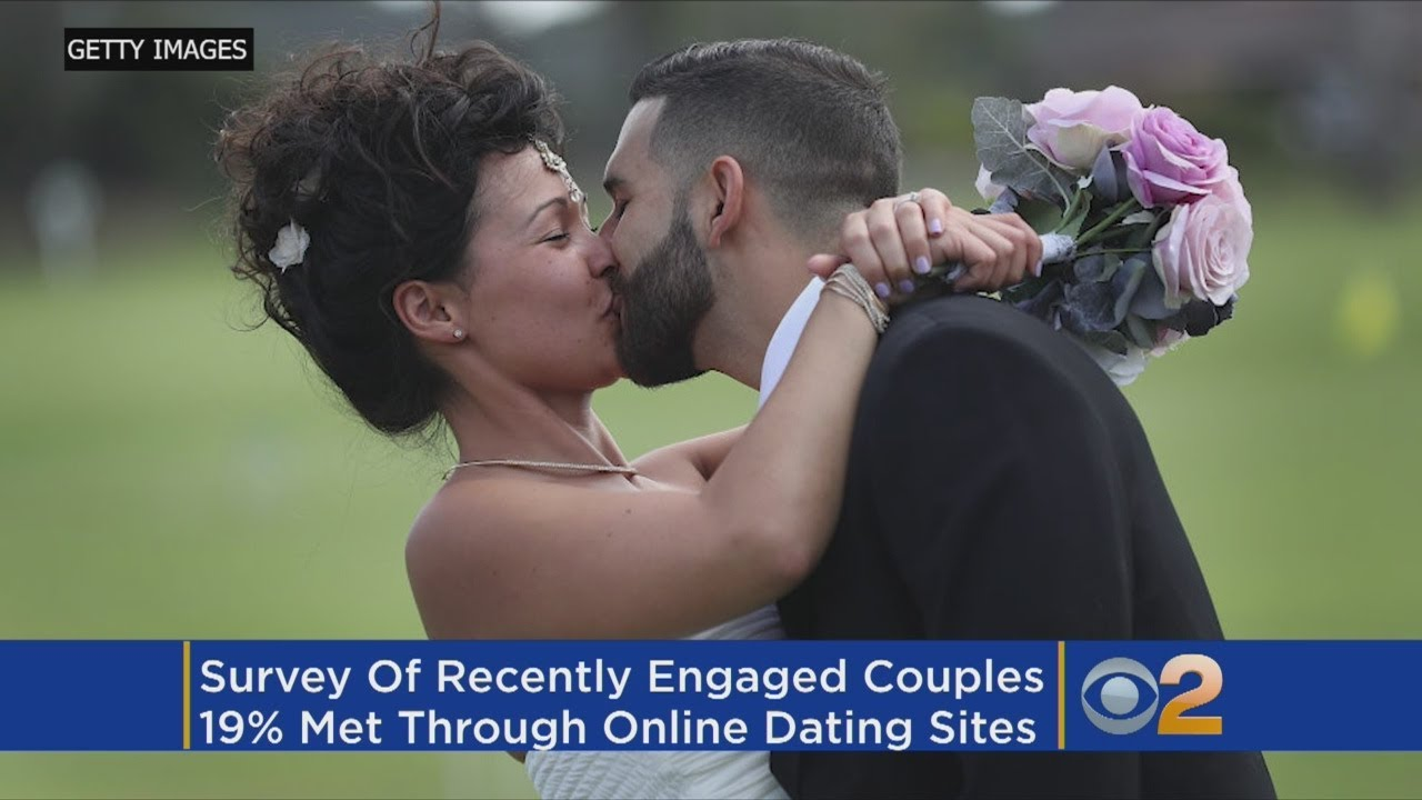 Marriages through online dating