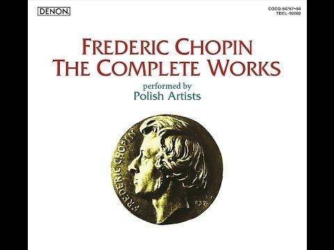 *♪3.ショパン: アレグロ・ド・コンセール イ長調 Op.46  / バルバラ・ヘッセ=ブコウスカ(p)