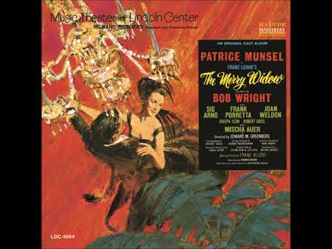 Bob Wright And Patrice Munsel – I Love You So (The Merry Widow Waltz), 1964